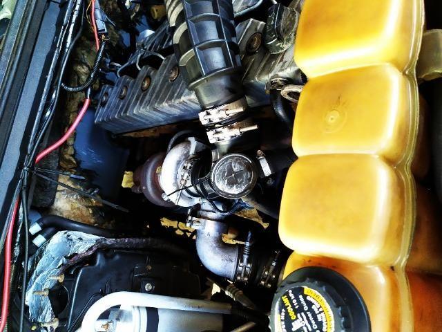 F250 99 diesel vendo ou troco em carro - Foto 11