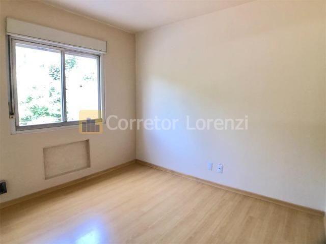 Apartamento de 85 m², 3 dormitórios, sacada, garagem - NH - Foto 3