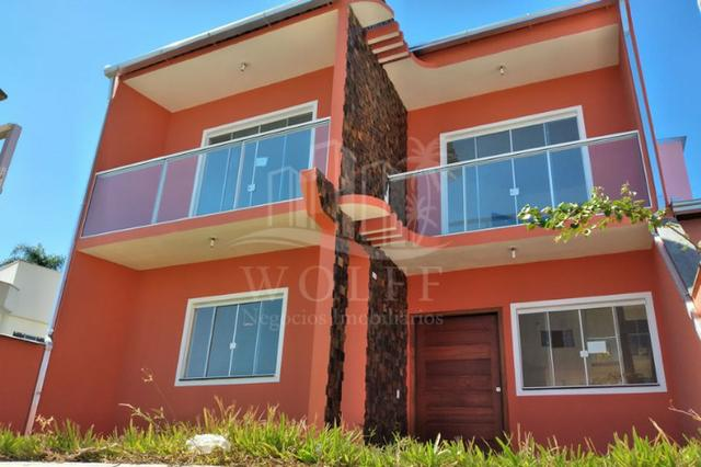 JD346 - Sobrado com 3 suítes + 1 dormitório térreo em Barra Velha/SC - Foto 4
