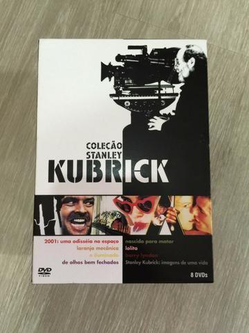 Box Dvd Coleção Stanley Kubrick - 07 filmes - 08 discos