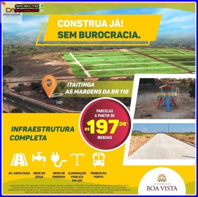 Loteamento Boa Vista seu Novo lar pertinho de Fortaleza > - Foto 17