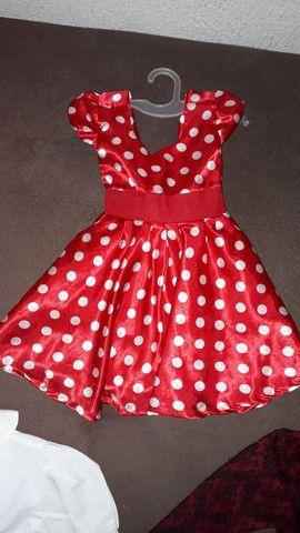Maravilhosos Vestido da Minnie - Foto 2
