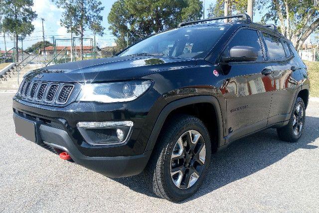 Jeep Compass Trailhawk 2.0 16v Turbo Díesel Aut 4X4 2018 Ùnico dono - Foto 3