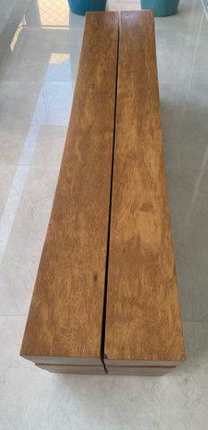 Banco em madeira Maciça - Desing Pedro Petry - Foto 2