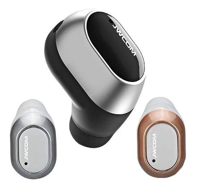 Mini Fone De Ouvido Bluetooth Sem Fio 4 Horas Musica Uber 99pop - Loja Natan Abreu - Foto 2