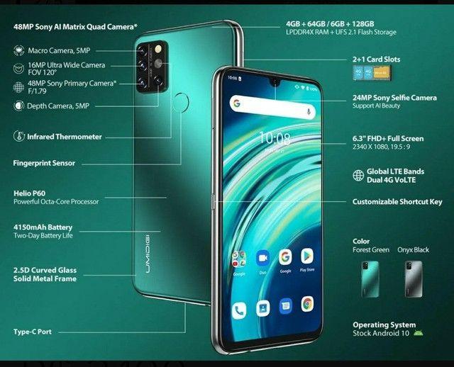 UMIDIGI A9 Pro é novo intermediário com sensor de temperatura corporal.<br><br> - Foto 3