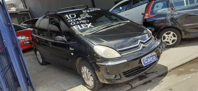 Xsara Picasso 2010 exclusive 1.6 flex completa couro ar condicionado - Foto 5