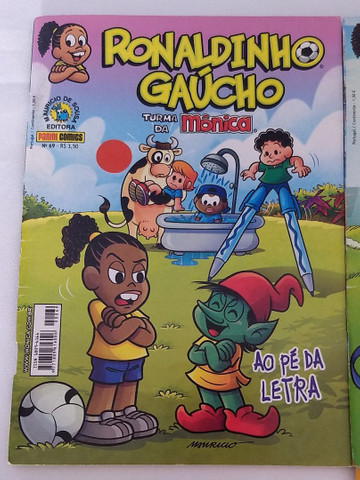 Gibi Ronaldinho Gaúcho kit 4 unds - Foto 5