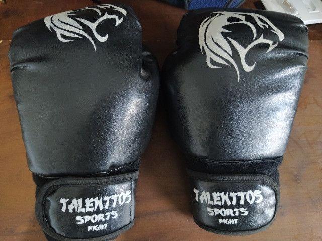 Luva de Boxe (Muay Thai) + Caneleira - Foto 4
