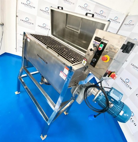 Misturador Horizontal de Pós Ribbon BLender 500 litros/kg Industrial  - Foto 3