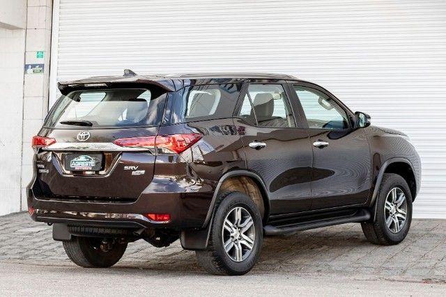 Toyota hilux sw4 4x2 srv flex 2018 automatica *IPVA 2021 PAGO* - Foto 4