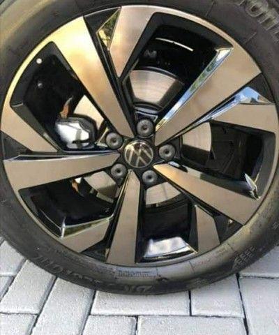 Tampa do parafuso da Roda Volkswagen 20pçs + chave - Original Vw - Foto 6