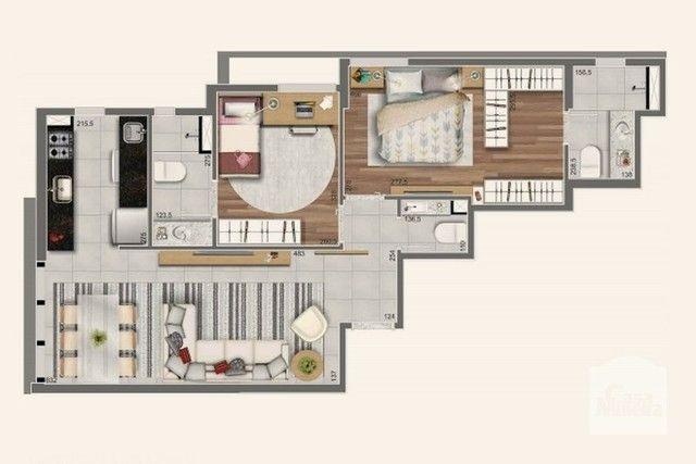 Apartamento à venda com 2 dormitórios em Lourdes, Belo horizonte cod:267374 - Foto 5