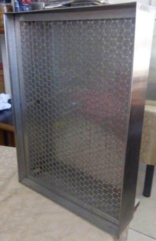 Escorredor de copos em inox 304