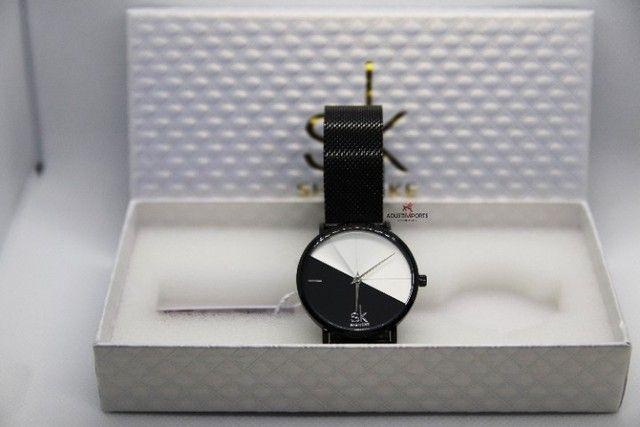 Dia dos namorados! Lindíssimo Relógio Premium importado novo e com garantia!
