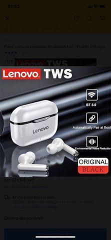 Fone de Ouvido Lenovo FoneLivepods Lp1 Com Redução Ruído - Foto 2