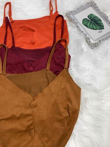 Blusas tecido sued  - Foto 3