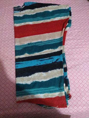 Blusa Colorida GG - Foto 2