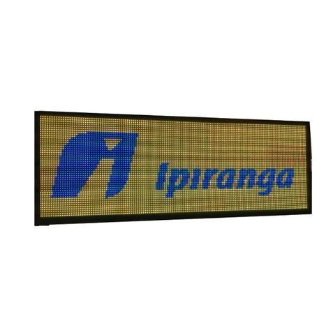 Painel Led RGB 200x40 P13 Outdoor c/ Wi-FI - Foto 3