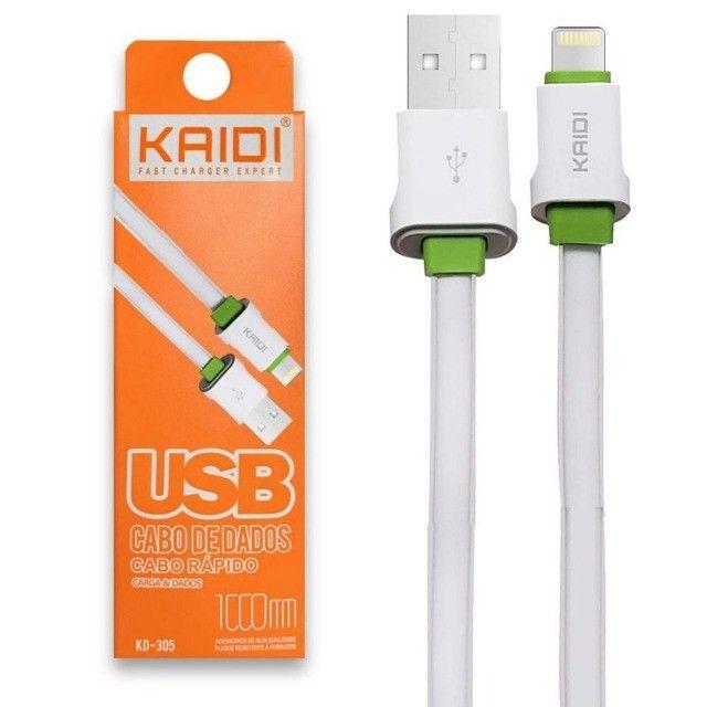 cabo usb IOS iphone lighting 1m - Foto 2