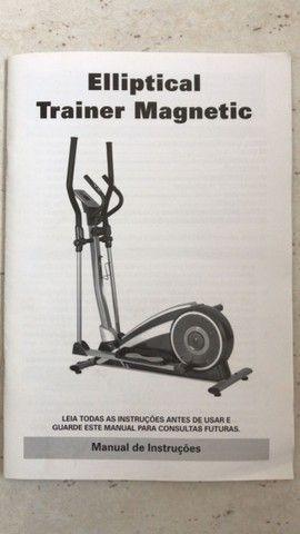 Transport Elliptical Trainer Magnetic Polishop - Baixou o preço!! - Foto 4
