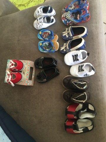 Venda de calçados para bebe