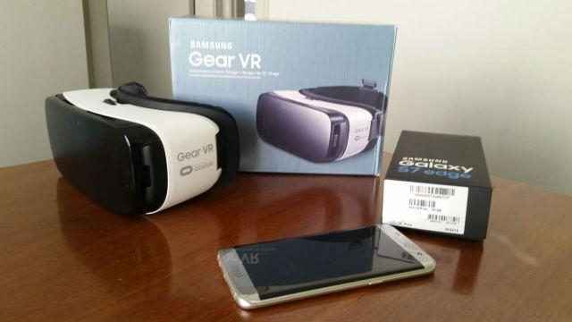 Galaxy s7 EDGE + Oculos Gear VR