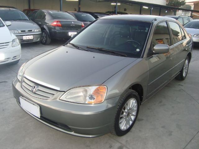 Honda Civic EX 1.7 Completo Automatico Financio Ou Parcelo Cartão Em Ate 10  X