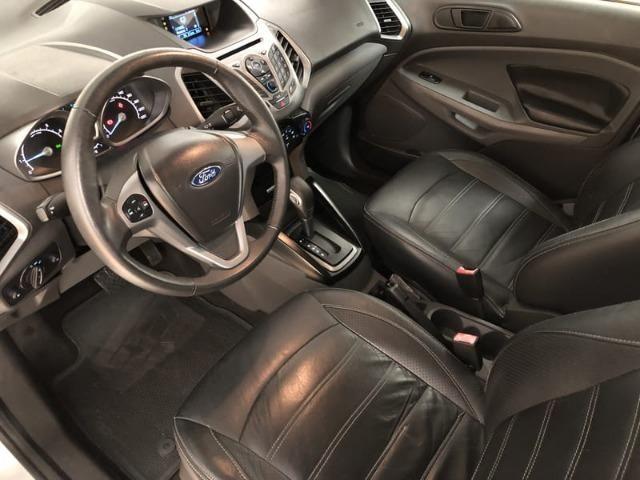 Ford Ecosport SE 2.0 Flex Automática - Banco em couro + Pneus ZERO + (IPVA 2019 Pago) - Foto 13