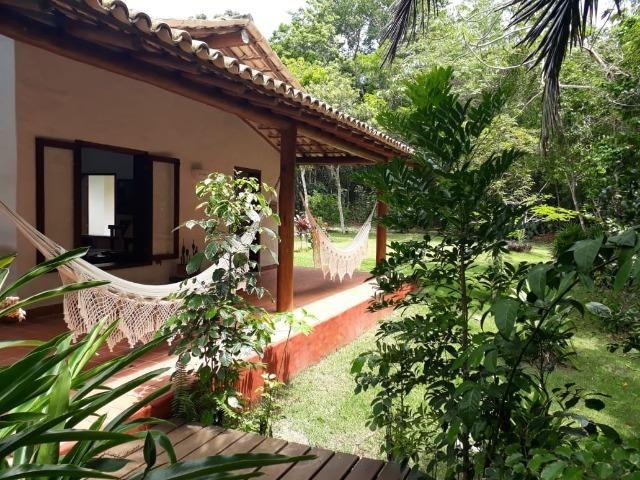 RE/MAX Safira aluga casa para temporada em área de preservação, em Trancoso - BA - Foto 8