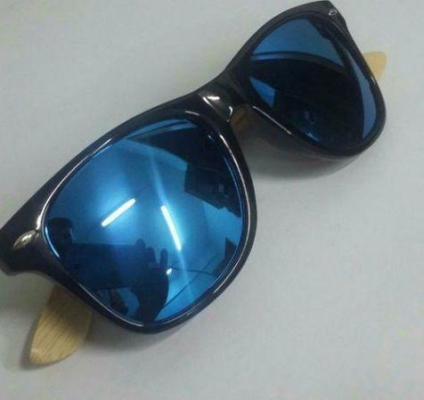 Óculos De Sol Madeira Bambu Unisex - Alta Qualidade