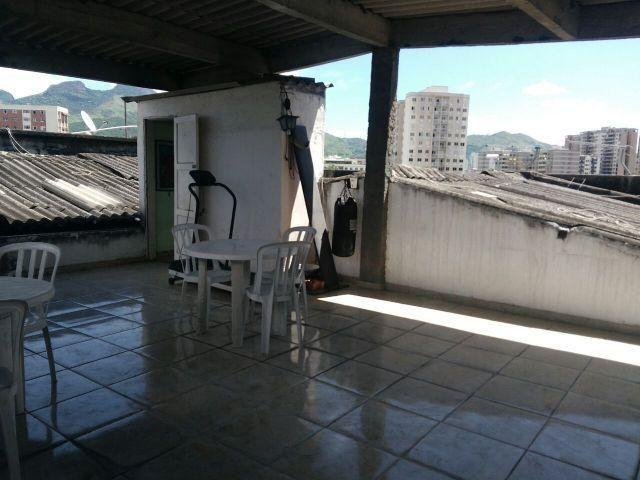 Boa Cobertura no Cachambi ac financiamento 02Qt vaga e condomínio barato perto do Prezunic - Foto 3