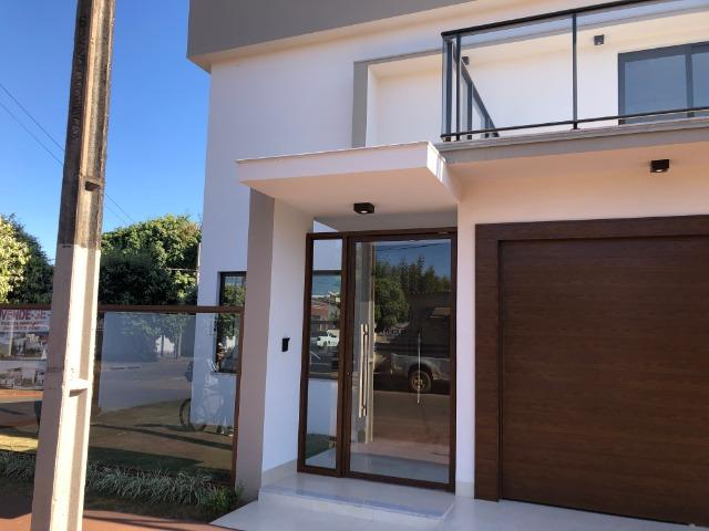 Sobrado 200 m2, acabamento Top, 03 Suítes, em Tangará, aceito carro, terrenos, casa menor - Foto 17