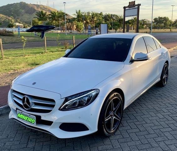Mercedes benz - c180 cgi 1.6 turbo 16v automático 2018/2018 (único dono)