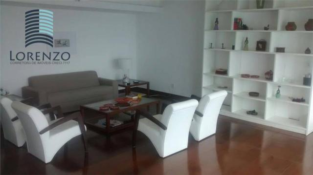 Ondina Apart - Apartamento com 3 dormitórios para alugar, 120 m² por R$ 3.024/mês - Ondina - Foto 5