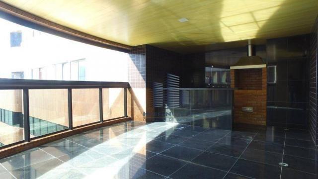 Apartamento com 4 dormitórios à venda, 319 m² por R$ 2.751.500,00 - Jatiúca - Maceió/AL - Foto 12