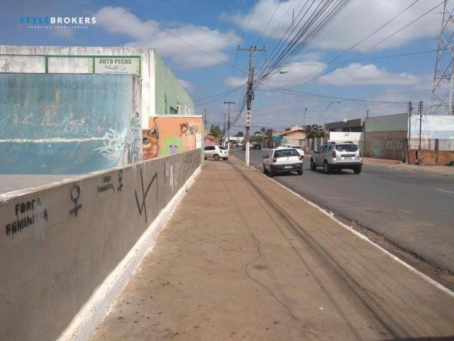 Terreno de esquina comercial à venda, 280 m² por R$ 500.000 - CPA I - Cuiabá/MT - Foto 2