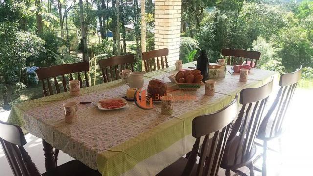 Chácara com 3 suítes à venda, 4000 m² por R$ 900.000 - Zona Rural - Piranguçu/MG - Foto 6