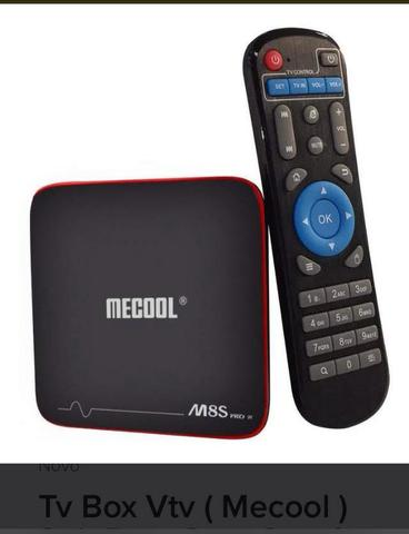 A sua TV inteligente TV Box Mecool
