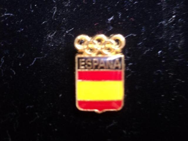 Pin Olimpíadas - Delegação Oficial Da Espanha
