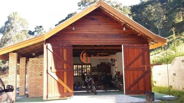 Chácara com 3 suítes à venda, 4000 m² por R$ 900.000 - Zona Rural - Piranguçu/MG - Foto 3
