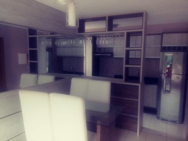 Apartamento Semi Mobiliado no Condomínio Villa Jardim Orquídea 3 Qts