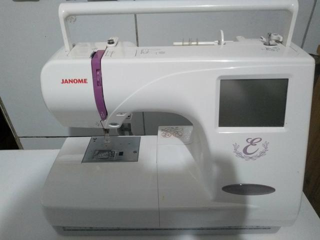 Máquina para bordar janome - Foto 3