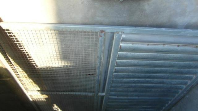 Portao metalon com chapa lambril 2,45x2,33
