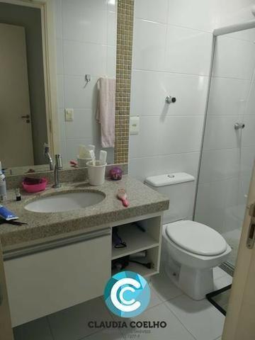 Belíssimo Apartamento 02 Quartos, Totalmente Mobiliado, na Praia do Morro! - Foto 9