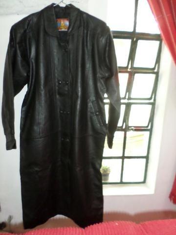 [ novo ] Casaco de couro puro,comum para mulheres ou homens,em santa Isabel !!