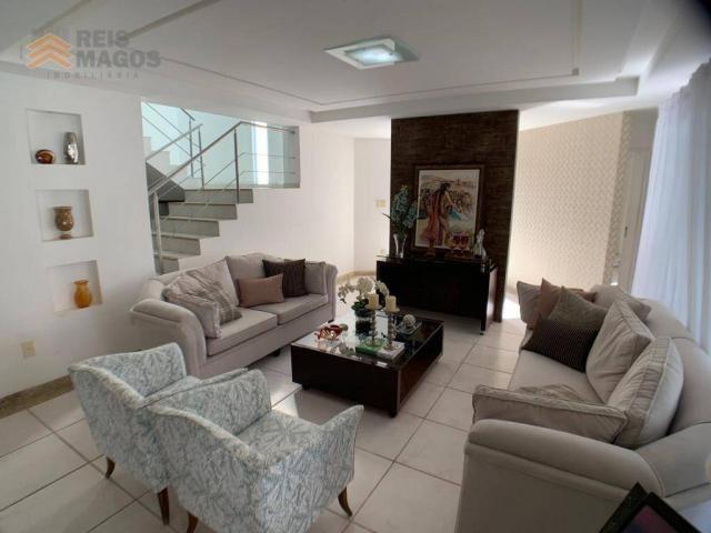 Casa com 3 dormitórios para alugar, 450 m² por R$ 8.000/mês - Candelária - Natal/RN - Foto 5