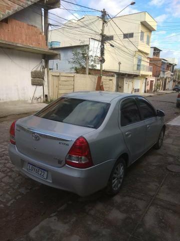 Etios Sedan 1.5 com GNV Quinta geração