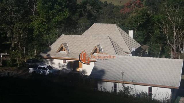 Chácara com 3 suítes à venda, 4000 m² por R$ 900.000 - Zona Rural - Piranguçu/MG