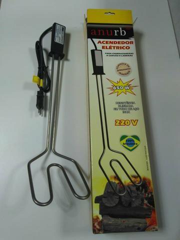 Acendedor elétrico para churrasqueira